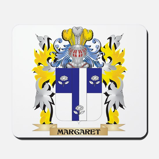 Margaret Coat of Arms - Family Crest Mousepad