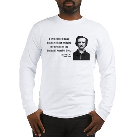 Edgar Allan Poe 22 Long Sleeve T-Shirt