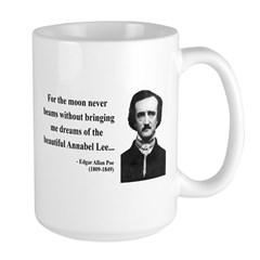 Edgar Allan Poe 22 Large Mug