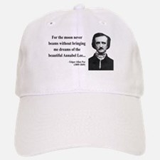 Edgar Allan Poe 22 Baseball Baseball Cap