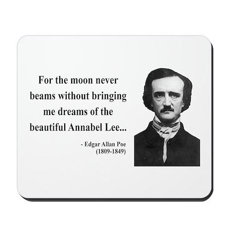 Edgar Allan Poe 22 Mousepad