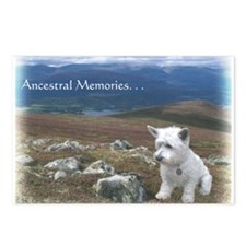 Westie Highland Laddie Postcards (Package of 8)