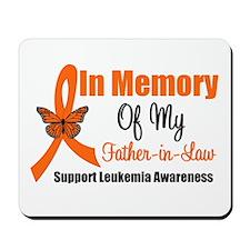 Leukemia In Memory FIL Mousepad