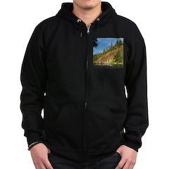 Eel River Cliff Zip Hoodie