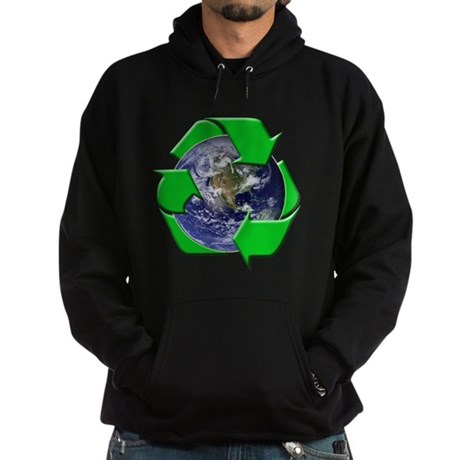 Earth Day Recycle Hoodie (dark)