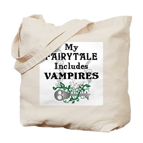 Vampire Fairytale Tote Bag