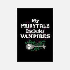 Vampire Fairytale Rectangle Magnet