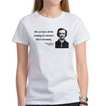 Edgar Allan Poe 24 Women's T-Shirt
