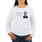 Edgar Allan Poe 24 Women's Long Sleeve T-Shirt