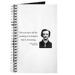 Edgar Allan Poe 24 Journal