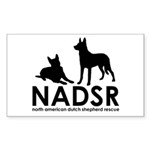 NADSR Classic Logo Rectangle Sticker