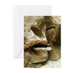 Face in the Rock Greeting Cards (Pk of 10)
