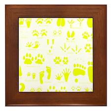 Cute Animals Framed Tile