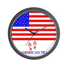 American Tracker Wall Clock