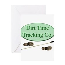 Dirt Time Tracking Company Greeting Card