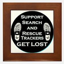 Support SAR Trackers Framed Tile