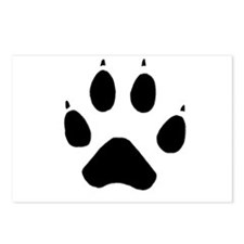 Wolf Paw Postcards (Package of 8)