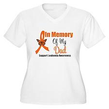 Leukemia In Memory Dad T-Shirt