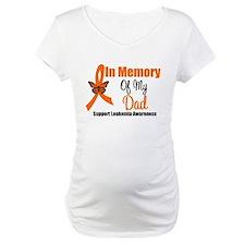Leukemia In Memory Dad Shirt