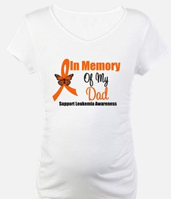 Leukemia In Memory Dad Shirt