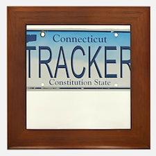 Connecticut Tracker Framed Tile