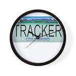 Colorado Tracker Plate Wall Clock