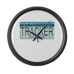 Colorado Tracker Plate Large Wall Clock
