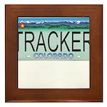 Colorado Tracker Plate Framed Tile