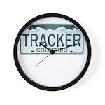 Colorado Tracker Wall Clock