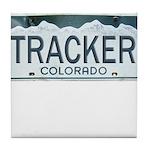 Colorado Tracker Tile Coaster