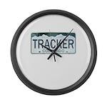 Colorado Tracker Large Wall Clock