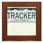 Colorado Tracker Framed Tile
