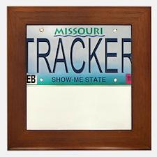 Missouri Tracker Framed Tile