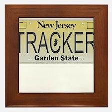New Jersey Tracker Framed Tile