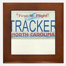 North Carolina Tracker Framed Tile