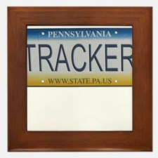 Pennsylvania Tracker Framed Tile