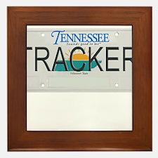 Tennessee Tracker Framed Tile