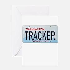 Washington Tracker Greeting Card