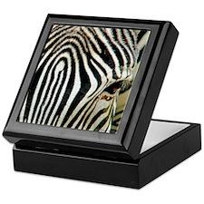 Zebra Eye Keepsake Box