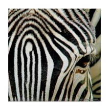 Zebra Eye Tile Coaster