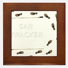 SAR Tracker Shoes Framed Tile