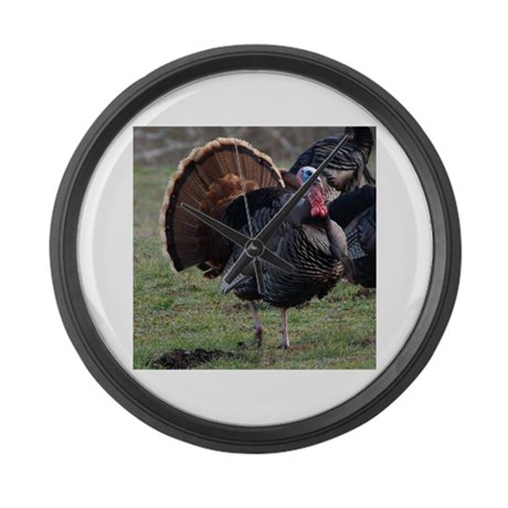 Big Gobbler Large Wall Clock