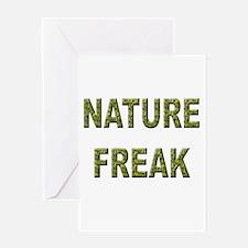 Nature Freak Greeting Card