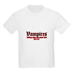 Vampires: Kicking Ninja and P T-Shirt