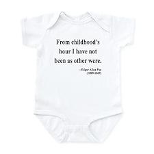 Edgar Allan Poe 19 Infant Bodysuit