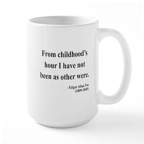 Edgar Allan Poe 19 Large Mug
