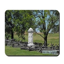 8th Ohio Infantry Monument Mousepad
