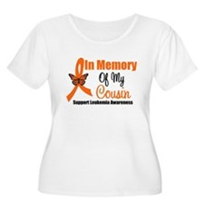 Leukemia In Memory Cousin T-Shirt