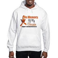 Leukemia In Memory Cousin Hoodie