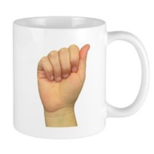 ASL Letter A Mug